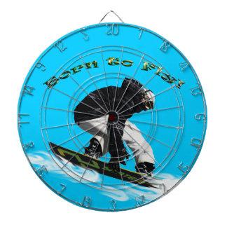Cool Snow Boarder Winter Sports Theme Dartboards