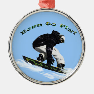 Cool Snow Boarder Winter Sports Theme Christmas Ornament