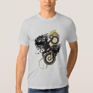 Cool Snowboard Vector Tee Shirt
