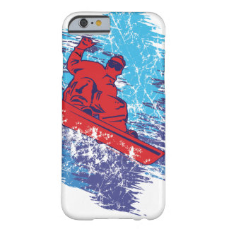 Cool Snowboarder Barely There iPhone 6 Case