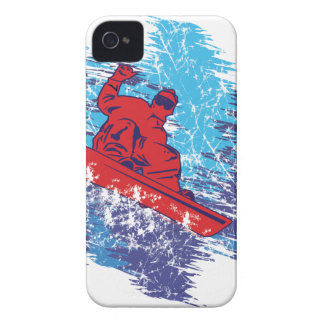 Cool Snowboarder iPhone 4 Case