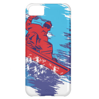 Cool Snowboarder iPhone 5C Case