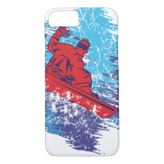 Cool Snowboarder iPhone 7 Case