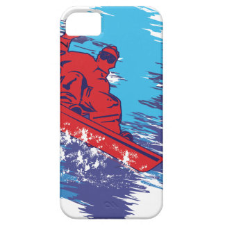 Cool Snowboarder iPhone SE/5/5s Case