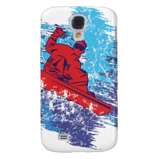 Cool Snowboarder Samsung Galaxy S4 Cover