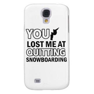 Cool Snowboarding designs Samsung S4 Case