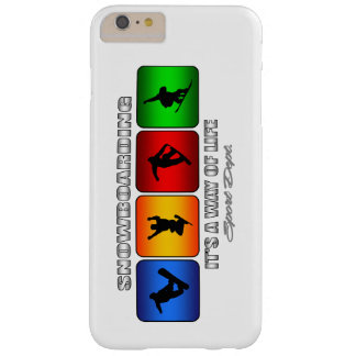 Cool Snowboarding It Is A Way Of Life Barely There iPhone 6 Plus Case