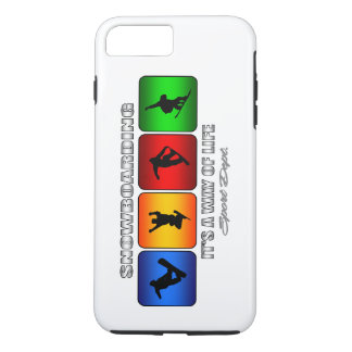 Cool Snowboarding It Is A Way Of Life iPhone 7 Plus Case