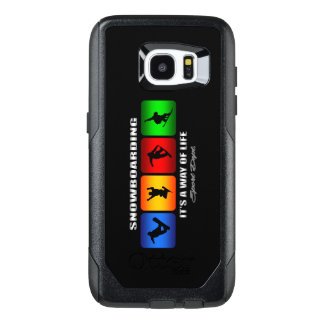 Cool Snowboarding It Is A Way Of Life OtterBox Samsung Galaxy S7 Edge Case
