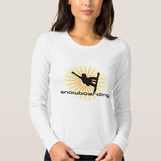 Cool Snowboarding Shirt for Girls