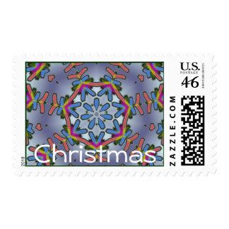 Cool Snowflake Christmas Postage