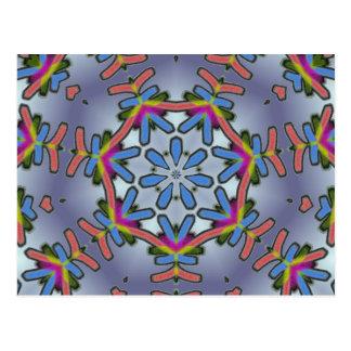 Cool Snowflake Postcard