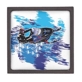 Cool Snowmobiler Jewelry Box