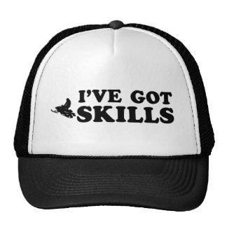 cool snownmobile designs trucker hats