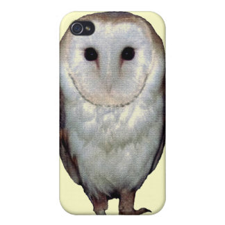 Cool snowy owl photo i phone case design iPhone 4/4S covers