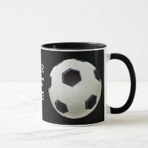 cool soccer ball mugs