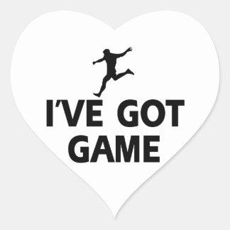 cool  soccer designs heart sticker