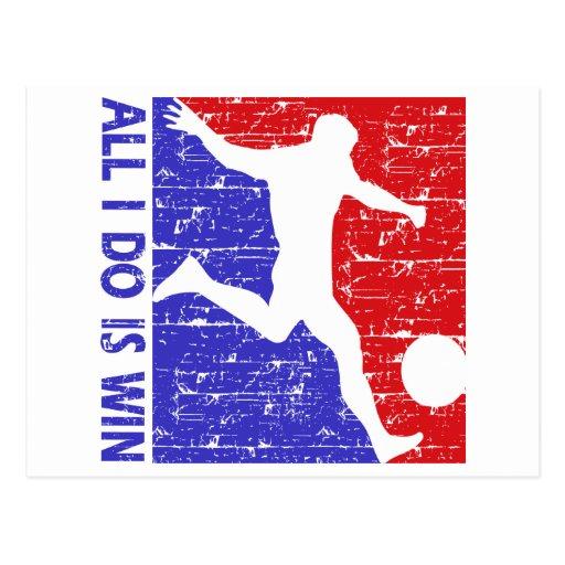 cool soccer designs postcard zazzle