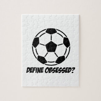 Cool soccer designs jigsaw puzzles