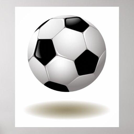 Cool Soccer Emblem Poster