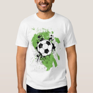 Cool soccer t shirts shirt designs zazzle for Cool football t shirts