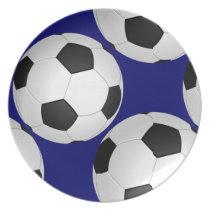 cool soccer football plates