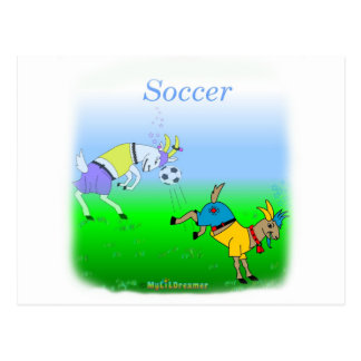 Cool soccer gifts for kids postcards