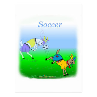 Cool soccer gifts for kids postcard