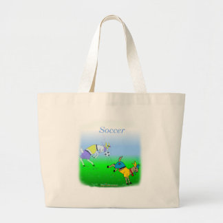 Cool soccer gifts for kids tote bag