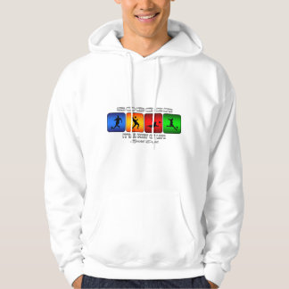 Cool Soccer It Is A Way Of Life Hoodie