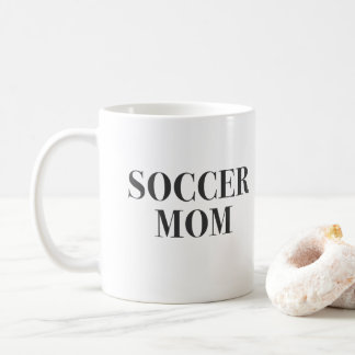 Cool Soccer Mom Slogan Print Coffee Mug