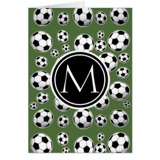 Cool Soccer - Tree Top Card