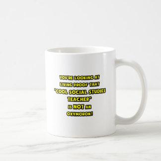 Cool Social Studies Teacher Is NOT an Oxymoron Mugs