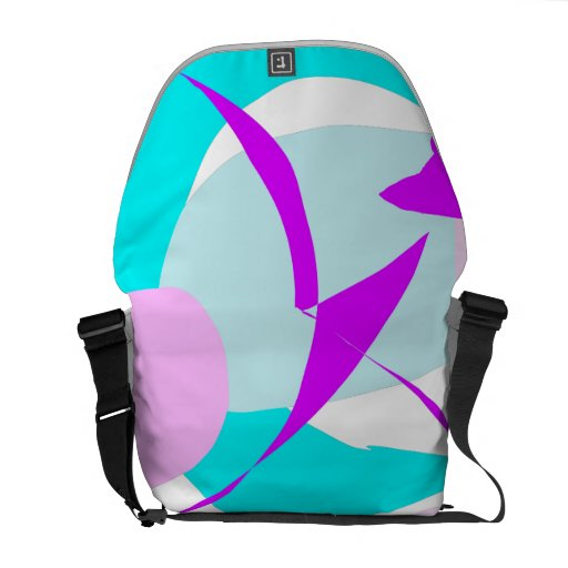 Cool Soft Water Nature Ice Bird Glacier Courier Bags