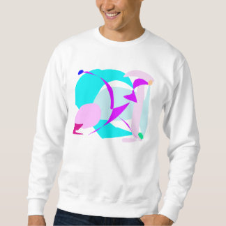 Cool Soft Water Nature Ice Bird Glacier Pullover Sweatshirts
