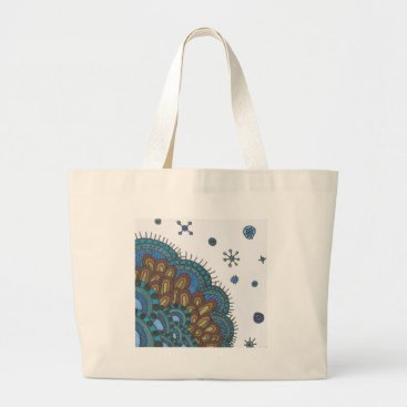 Beach Themed Cool Soil Large Tote Bag