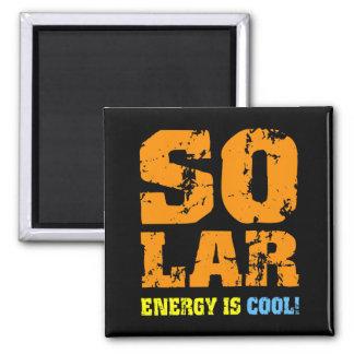 Cool solar energy magnet
