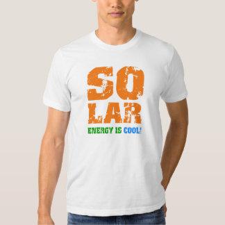 Cool solar energy tee shirt