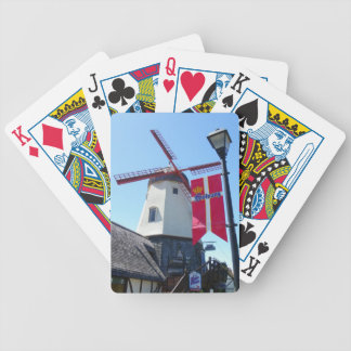 Cool Solvang Playing Cards! Bicycle Playing Cards