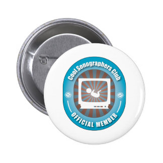 Cool Sonographers Club Buttons