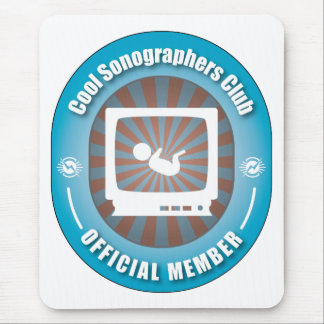 Cool Sonographers Club Mouse Pad
