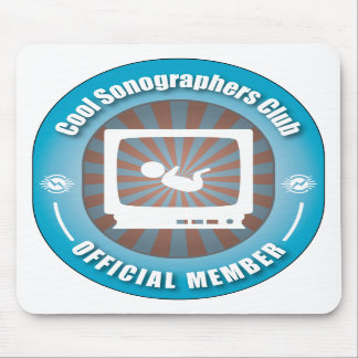 Cool Sonographers Club Mouse Pads