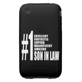 Cool Sons in Law : Number One Son in Law iPhone 3 Tough Covers