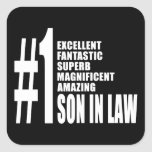 Cool Sons in Law : Number One Son in Law Stickers