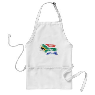 Cool South African flag design Aprons