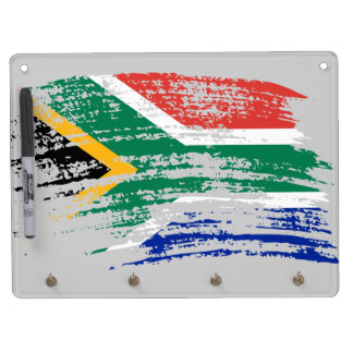 Cool South African flag design Dry Erase Boards