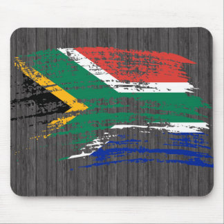Cool South African flag design Mousepads