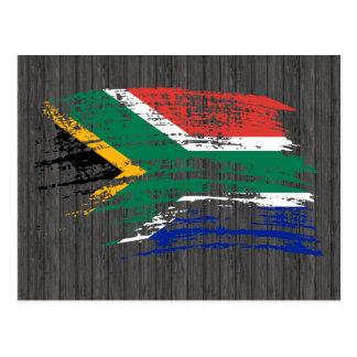 Cool South African flag design Postcard