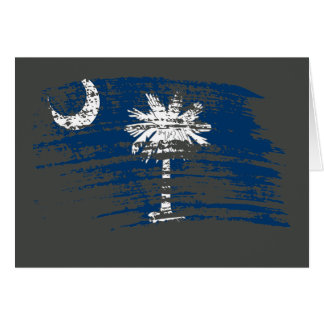 Cool South Carolinian flag design Card