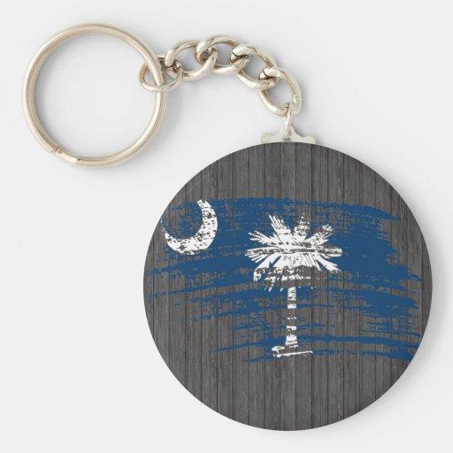 Cool South Carolinian flag design Key Chains